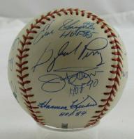 OML Baseball Signed by (14) with Bob Feller, Monte Irvin, Lou Boudreau, Fergie Jenkins, Warren Spahn (JSA LOA) at PristineAuction.com