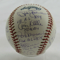 MLB Rookies of the Year OML Baseball Signed by (14) with Cal Ripken Jr, Stan Bahnsen, Ron Kittle, Ron Hansen, Don Schwall, Gil McDougald (JSA LOA) at PristineAuction.com