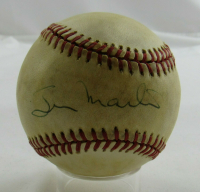 Billy Martin Signed OAL Baseball (JSA LOA) (See Description) at PristineAuction.com