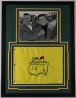 Gary Player Signed 2016 Masters 26x35 Custom Framed Flag Display (JSA COA) (See Description) at PristineAuction.com