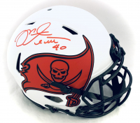 Mike Alstott Signed Buccaneers Full-Size Authentic On-Field Lunar Eclipse Alternate Speed Helmet (Beckett COA) at PristineAuction.com