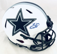 Emmitt Smith Signed Cowboys Full-Size Authentic On-Field Lunar Eclipse Alternate Speed Helmet (Beckett COA & Prova Hologram) at PristineAuction.com