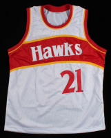 Dominique Wilkins Signed Jersey (PSA COA) at PristineAuction.com