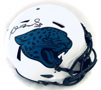 Fred Taylor Signed Jaguars Full-Size Authentic On-Field Lunar Eclipse Alternate Speed Helmet (Beckett COA) at PristineAuction.com
