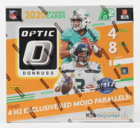 2020 Panini Donruss Optic Football Hobby Hybrid Box with (8) Packs at PristineAuction.com