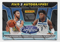 2020-21 Panini Certified Basketball Hobby Box with (10) Packs at PristineAuction.com