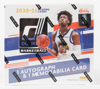 2020-21 Panini Donruss Basketball Hobby Box with (10) Packs at PristineAuction.com