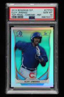 Eloy Jimenez 2014 Bowman Chrome Draft Top Prospects Refractors #CTP33 (PSA 10) at PristineAuction.com