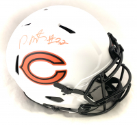 David Montgomery Signed Bears Full-Size Authentic On-Field Lunar Eclipse Alternate Speed Helmet (Beckett COA) at PristineAuction.com