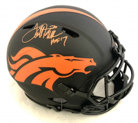 """Terrell Davis Signed Broncos Full-Size Authentic On-Field Eclipse Alternate Speed Helmet Inscribed """"HOF 17"""" (Beckett COA) at PristineAuction.com"""