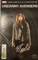 "Stan Lee Signed 2014 ""Uncanny Avengers"" Issue #14 Marvels Agents of S.H.I.E.L.D. Variant Marvel Comic Book (Lee COA) at PristineAuction.com"