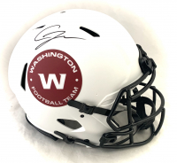 Chase Young Signed Washington Full-Size Authentic On-Field Lunar Eclipse Alternate Speed Helmet (Fanatics Hologram) at PristineAuction.com