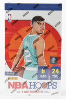 2020-21 Panini NBA Hoops Basketball Hobby Box with (24) Packs at PristineAuction.com