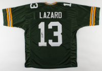 Allen Lazard Signed Jersey (JSA COA) at PristineAuction.com