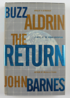 """Buzz Aldrin Signed """"The Return"""" Hardcover Book (PSA COA) at PristineAuction.com"""