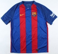 Luis Suarez Signed FC Barcelona Jersey (Beckett COA) (See Description) at PristineAuction.com