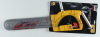 "Gunnar Hansen Signed ""Texas Chainsaw Massacre"" Leatherface Chainsaw Toy With Original Packaging (JSA COA) at PristineAuction.com"