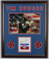 Tim Howard Signed Team USA 18x22 Custom Framed Cut Display (JSA COA) at PristineAuction.com