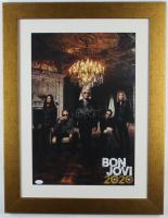 "Jon Bon Jovi Signed ""Bon Jovi 2020"" 20.5x26.5 Custom Framed Poster Display (JSA COA) (See Description) at PristineAuction.com"