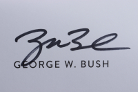 """George W. Bush Signed """"Portraits of Courage"""" Hardcover Book (JSA COA) at PristineAuction.com"""