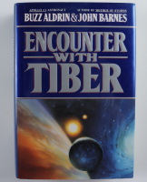 "Buzz Aldrin Signed ""Encounter With Tiber"" Hardcover Book (JSA COA) at PristineAuction.com"