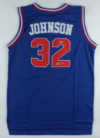 Magic Johnson Signed All-Star Jersey (PSA COA) at PristineAuction.com