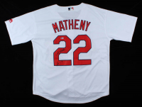 Mike Matheny Signed Cardinals Jersey (Beckett COA) at PristineAuction.com