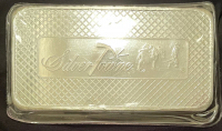 "10 Troy Oz .999 Fine Silver ""Silver Towne"" Bullion Bar at PristineAuction.com"