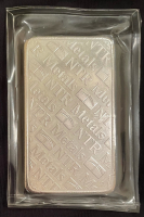 "10 Troy Oz .999 Fine Silver ""NTR Metals"" Bullion Bar at PristineAuction.com"