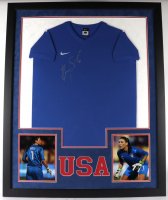 Hope Solo Signed 35x43 Custom Framed Jersey (Schwartz COA) (See Description) at PristineAuction.com