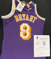 Kobe Bryant Signed Lakers Mitchell & Ness Jersey (Beckett LOA) at PristineAuction.com