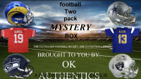 OKAUTHENTICS Full-Size Helmet and Jersey Football Mystery Box Series III at PristineAuction.com