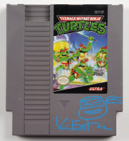 "Kevin Eastman Signed 1985 ""Teenage Mutant Ninja Turtles"" Nintendo Video Game with Hand-Drawn Sketch (Beckett COA) at PristineAuction.com"