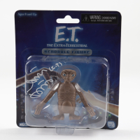 "Matthew DeMeritt Signed ""E.T.: The Extra Terrestrial"" E.T. Action Figure (Beckett COA) at PristineAuction.com"
