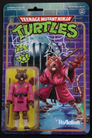 "Kevin Eastman Signed ""Teenage Mutant Ninja Turtles"" Splinter Action Figure with Hand-Drawn Sketch (Beckett COA) at PristineAuction.com"