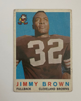 Jim Brown 1959 Topps #10 at PristineAuction.com
