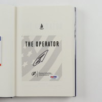 "Robert O'Neill Signed ""The Operator"" Hardcover Book (PSA COA) at PristineAuction.com"