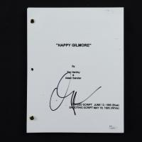 "Adam Sandler Signed ""Happy Gilmore"" Movie Script (JSA COA) at PristineAuction.com"