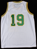 Lenny Wilkens Signed Jersey (JSA COA) at PristineAuction.com