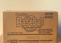 1986 Donruss Baseball Factory Sealed (72) Rack Pack Case at PristineAuction.com