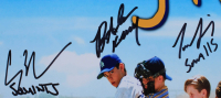 """""""The Sandlot"""" 11x14 Photo Cast-Signed by (6) with Tom Guiry, Marty York, Shane Obedzinski, Victor DiMattia, Chauncey Leopard, Brandon Adams With (6) Character Inscriptions (Beckett COA) at PristineAuction.com"""
