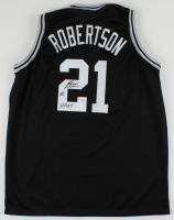 "Alvin Robertson Signed Jersey Inscribed ""86"" & ""DPOY"" (PSA COA) at PristineAuction.com"