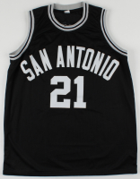 """Alvin Robertson Signed Jersey Inscribed """"86"""" & """"DPOY"""" (PSA Hologram) at PristineAuction.com"""