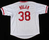 "Gary Nolan Signed Jersey Inscribed ""Reds HOF"" & ""2x W.S. Champs"" (PSA COA) (See Description) at PristineAuction.com"