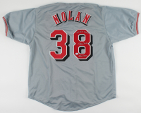 """Gary Nolan Signed Jersey Inscribed """"Reds HOF"""" & """"2x W.S. Champs"""" (PSA COA) (See Description) at PristineAuction.com"""