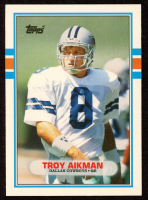 Troy Aikman 1989 Topps Traded #70T RC at PristineAuction.com