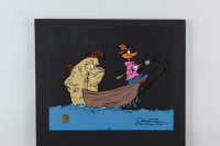 """Chuck Jones Signed """"Fish Tale"""" Sold Out Limited Edition 10x12 Animation Cel (Chuck Jones COA) at PristineAuction.com"""