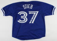 "Dave Stieb Signed Jersey Inscribed ""7x All Star"" & ""No Hitter 9-2-90"" (PSA COA) at PristineAuction.com"