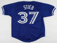 "Dave Stieb Signed Jersey Inscribed ""7x All Star"" & No Hitter 9-2-90"" (PSA COA) (See Description) at PristineAuction.com"