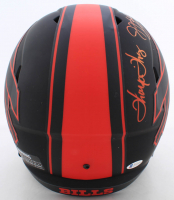 Jim Kelly, Thurman Thomas, & Andre Reed Signed Bills Full-Size Eclipse Alternate Speed Helmet (Beckett COA) at PristineAuction.com